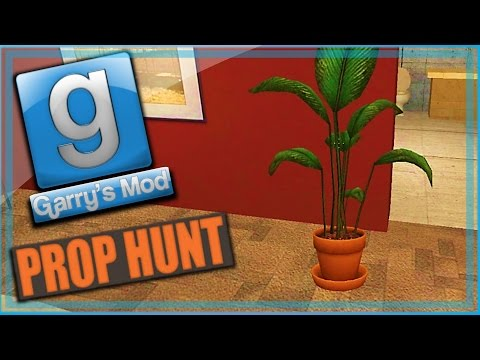 Garry's Mod Prop Hunt Funny Moments! - i'm plant, Waterfall Spot, and Delete Your Channel!