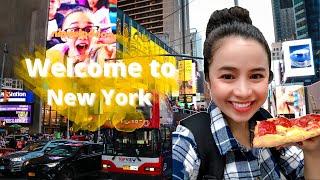 Gambar cover DU LỊCH NEW YORK CÙNG STEPHANIE || CHIA SẺ AIRBNB Ở NEW YORK || ĂN PIZZA RẺ NGON Ở MỸ 🇺🇸