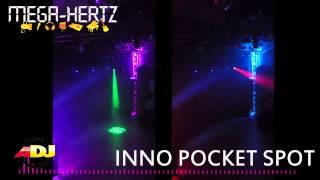 démo vidéo sur Mega-hertz.fr : INNO SPOT POCKET AMERICAN DJ