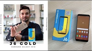 SAMSUNG J6 GOLD