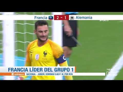 Francia vs Alemania: resumen y goles del 2-1 - Liga de Naciones
