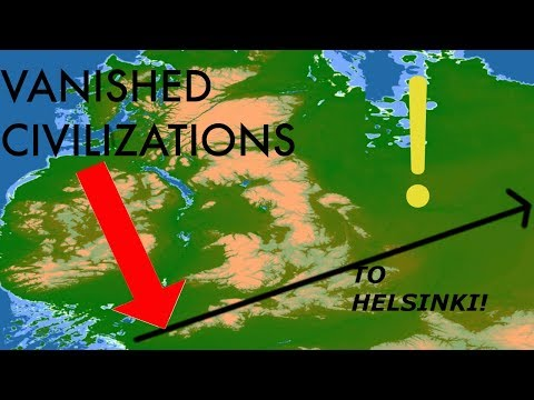 Ley Lines (ROADS) Across UK and Europe. PROOF of ICE AGE ADVANCED World! GIANTS' CIVILIZATION