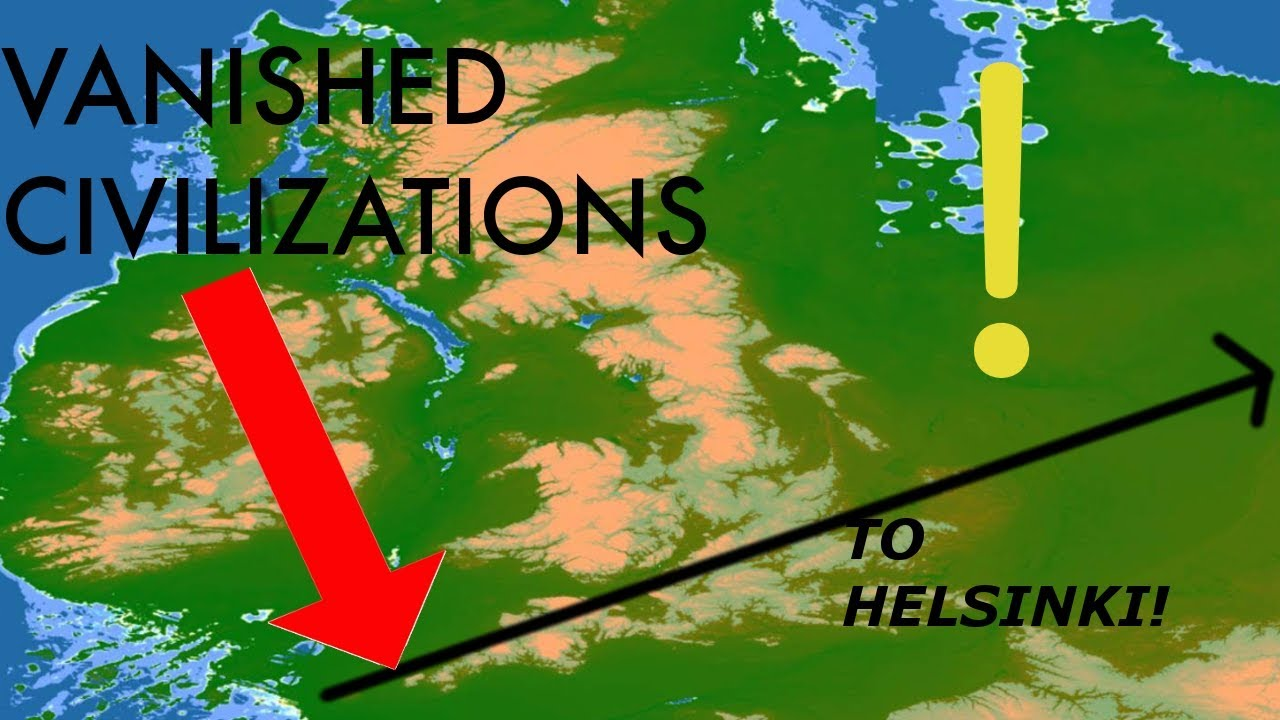 Ley Lines (ROADS) Across UK and Europe  PROOF of ICE AGE ADVANCED World!  GIANTS' CIVILIZATION