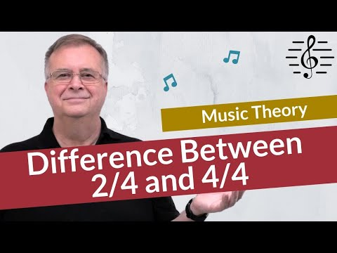 The Difference Between 2/4 and 4/4 Time Signatures – Music Theory