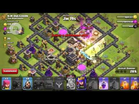 Clash of Clans (Extreme Attack)!!!!!!!