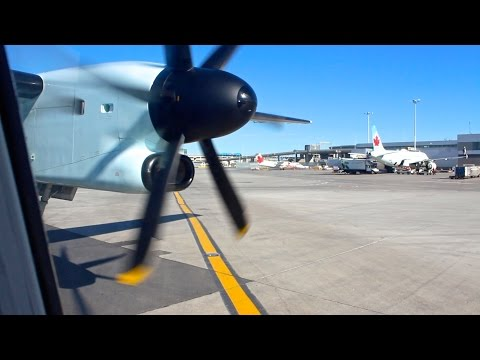 PROP JOB | Air Canada Express Bombardier Q400 Intersection Takeoff from Toronto