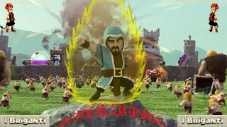 Clash Of Clans - ATTACCHI A 3 STELLE - GOLALOON - GOWIPE- FULL STREGHE FAIL