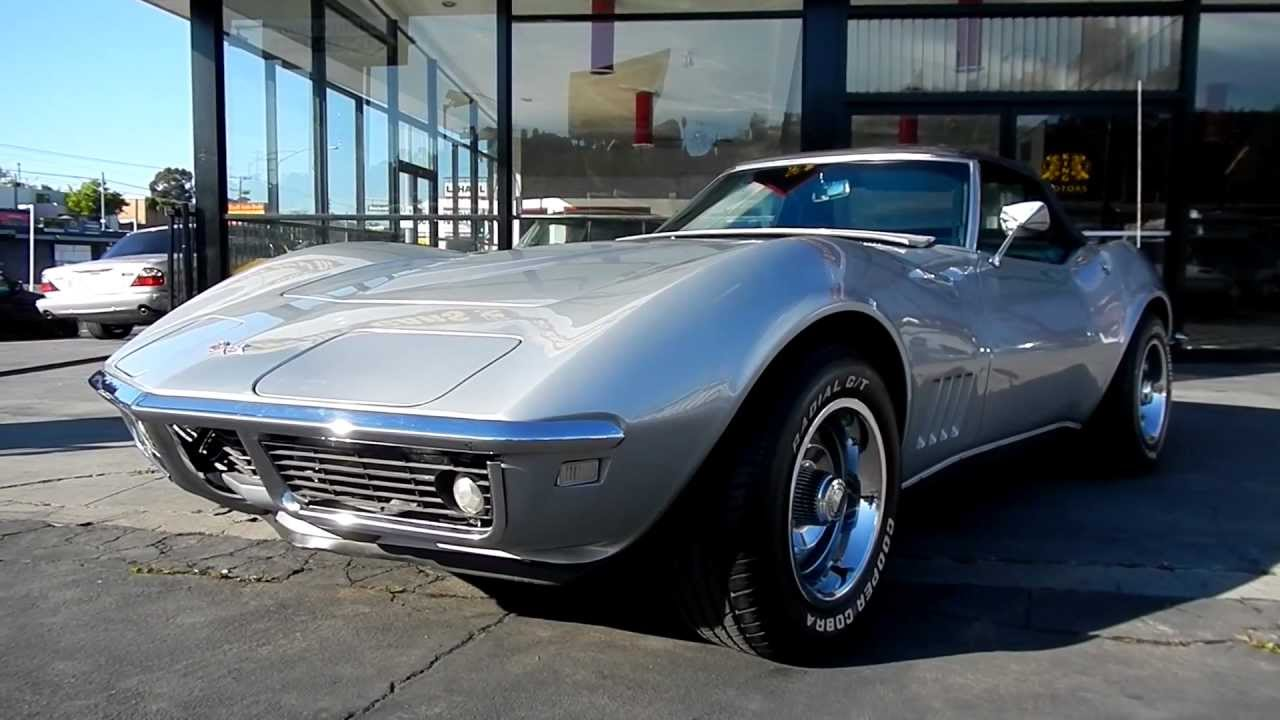 1968 Chevrolet Corvette Roadster Convertible Sting Ray Vette 327 Stingray 4 Spd
