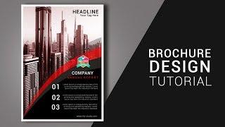Cara membuat Brosur di Photoshop Business Brochure Design