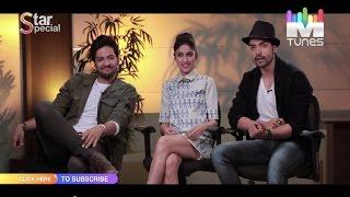"Ali Fazal, Gurmeet Choudhary & Sapna Pabbi talk about their Film ""Khamoshiyan"" only on MTunes HD"