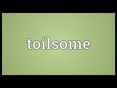 Header of toilsome