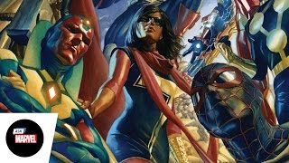 Ask Marvel: Mark Waid, Writer — All-New All-Different Avengers,  Black Widow