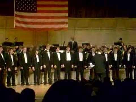 Men's Choir - Anchors Aweigh