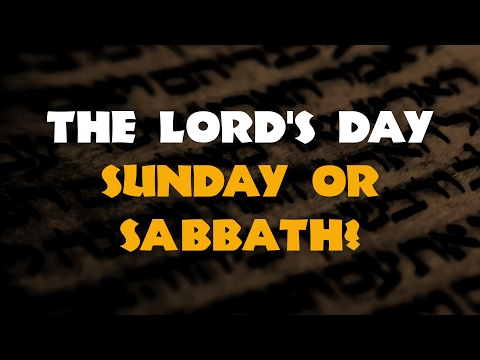 The Lord's Day in Revelation
