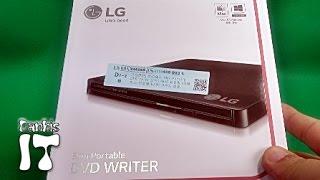 LG전자 DVD멀티 Slim Portable DVD Writer GP50NB40 외장형 USB 제품 구입 개봉기 리뷰