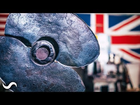 MAKING THE STEEL POPPY - Remembrance Day 2017
