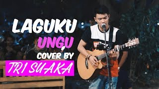 LAGUKU - UNGU LIVE AKUSTIK COVER BY TRI SUAKA - PENDOPO LAWAS