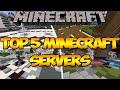 Minecraft: Top 5 Minecraft Servers (1.8)