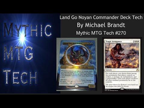 EDH Deck Tech  Land Go By Michael Brandt  Mythic MTG Tech 270