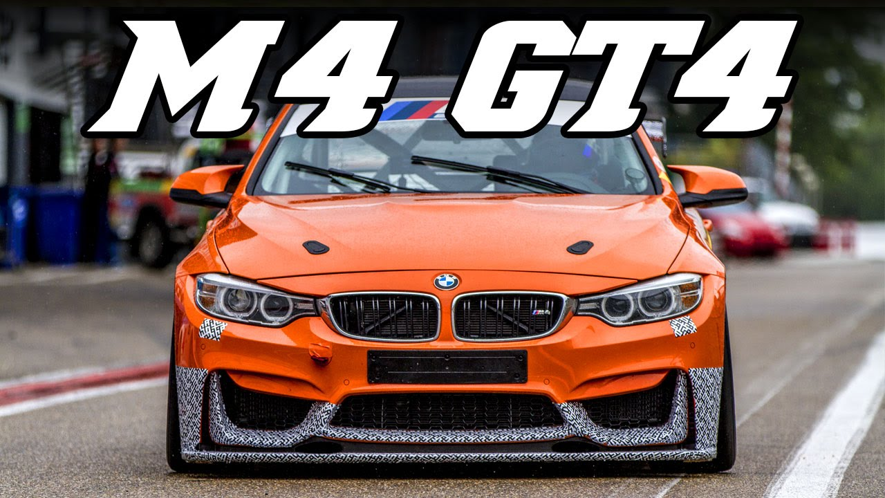 bmw f82 m4 gt4 - test at zolder 2015 - youtube