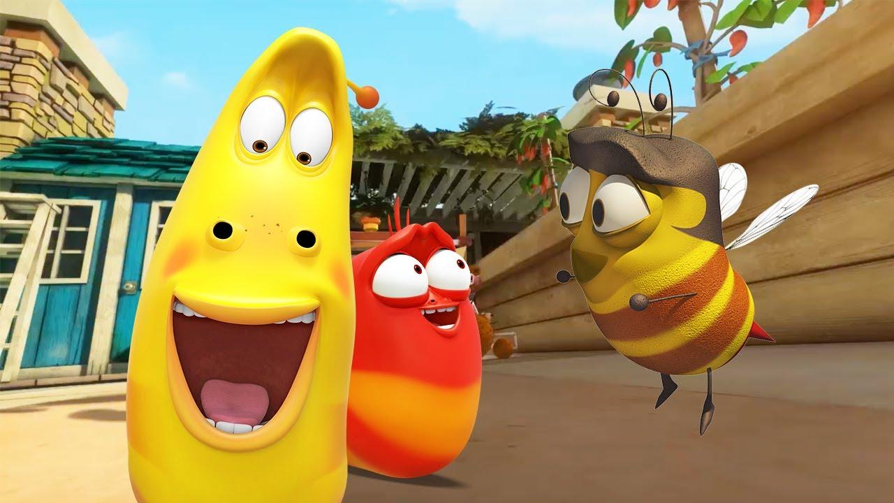 Bee on the Loose | Larva | Cartoons for Kids | WildBrain Kids