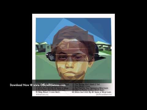 #illkidmaticcity 7) The Recipe Ain't Hard 2 Tell Instrumental - (Nas x Kendrick Lamar x Dilemma)
