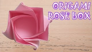Origami Easy - Origami Rose Box Instructions