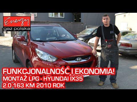 Montaż LPG Hyundai ix35 2.0 163KM 2010r w Energy Gaz Polska na auto gaz BRC SQ 32 OBD