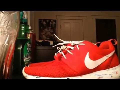 How to Clean Roshe Runs/Simple Green Review