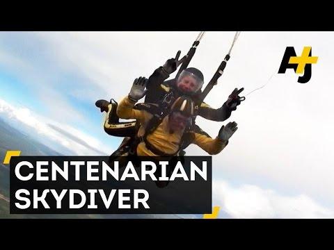 centenarian skydiver doovi