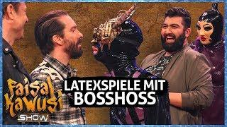 Latex-Spaziergänger! Skurrile Hobbys raten mit The BossHoss - Faisal Kawusi Show