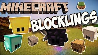 Minecraft Blocklings Mod 1.8 | vorstellung+Installation [German/HD]