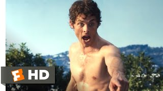 Death at a Funeral (2010) - Naked on the Roof Scene (8/10) | Movieclips