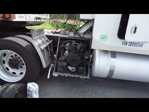 #84 Today I Conquer the Generator The Life of an Owner Operator Flatbed Truck Driver Vlog