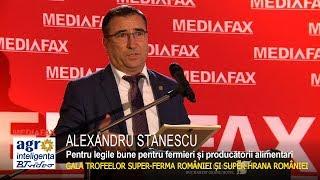 SUPER-FERMA ROMÂNIEI 2017. Premiul pentru PREȘ. ALEXANDRU STĂNESCU - COMISIA PENTRU AGRICULTURĂ