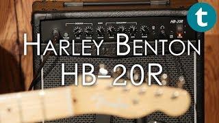 Harley Benton | HB-20R | Amp Demo