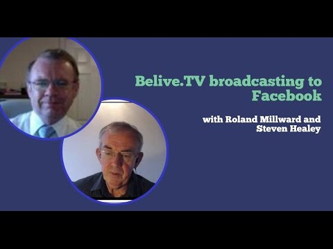 Testing BeLIve.tv broadcast to Facebook LIVE - First Test of Face to Face #Belive.tv