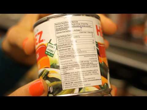 How to Identify Hidden Sodium : Greek Gourmet - YouTube