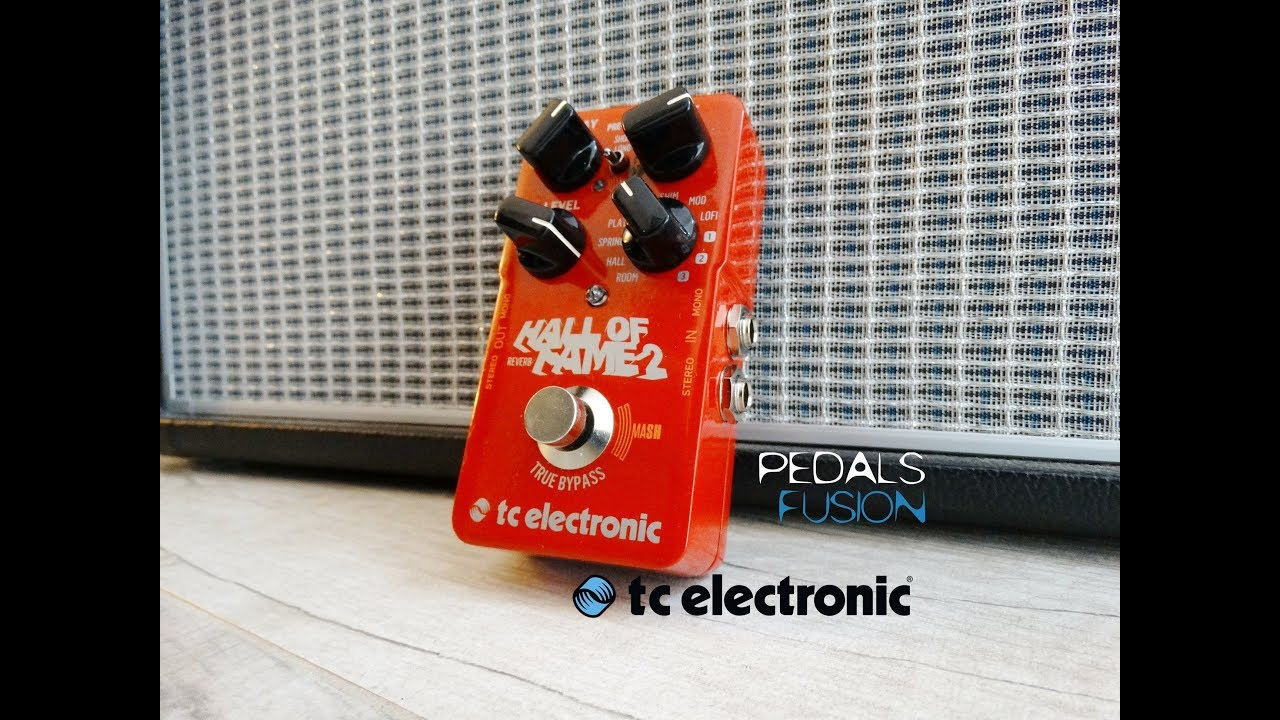 Tc Electronic Hall Of Fame 2 Reverb Youtube