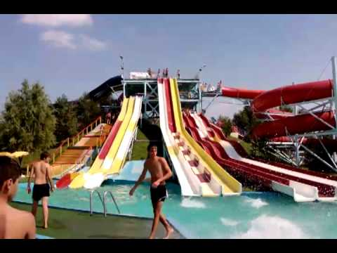 Water Park Otopeni / Test Video LG GC900