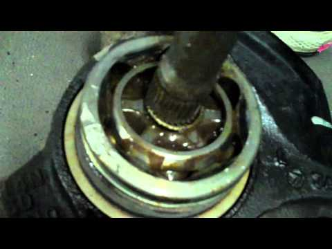 How to Change a CV Axle when one end WILL NOT Come out!