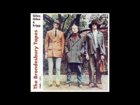 Giles, Giles and Fripp ~ The Brondesbury Tapes (LP, 1968)
