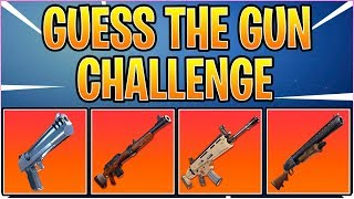 Indovina il suono GUN in Fortnite Battaglia Royale! Quiz/Sfida di Fortnite