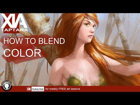 How to blend color