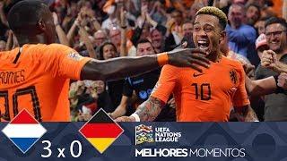 HOLANDA 3 X 0 ALEMANHA - MELHORES MOMENTOS - UEFA NATIONS LEAGUE (13/10/2018)