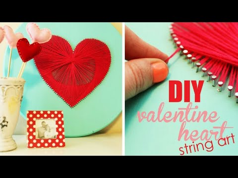 5 DIY Valentine's Day Gifts and Room Decor Ideas |  For Him & Her ❤  Valentine's Day DIY 2017