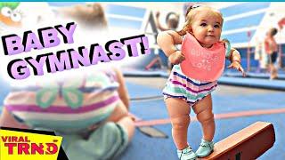 Funniest Kid Gymnastics Fails Compilation! 2019 |  Videos Viral TRND
