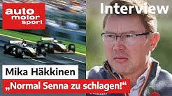 Formel Schmidt Interview mit Mika Häkkinen | auto motor und sport