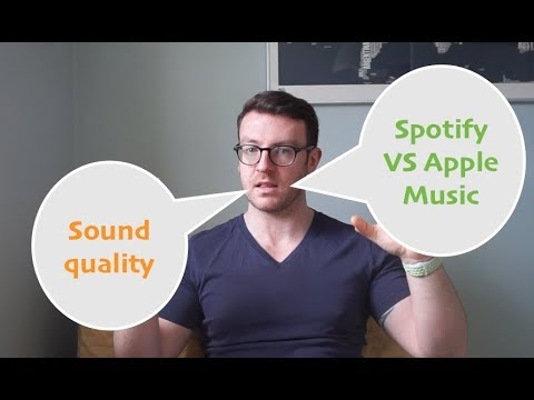 Spotify vs Apple music - best for sound quality