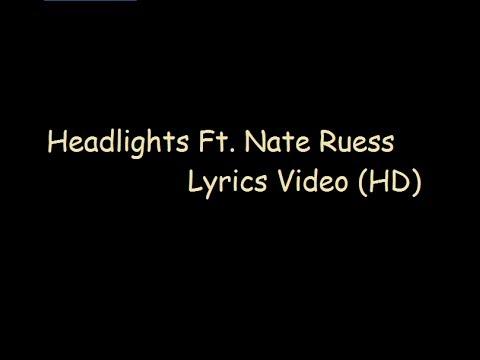 Eminem- Headlights Ft. Nate Ruess Lyrics